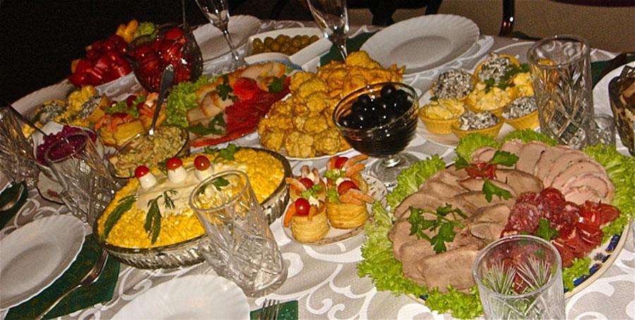 Еда на день рождения рецепты фото